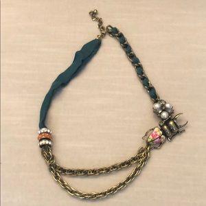 Anthropologie Bug Necklace